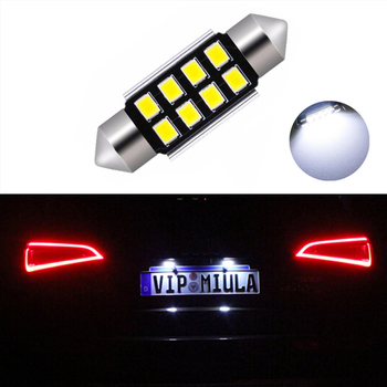 1x Canbus No Error 36MM C5W LED License Plate Light For Mercedes Benz W208 W209 W203 W169 W210 W211 W212 AMG CLK image