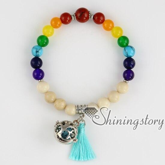 Seven Chakra Bracelet Locket