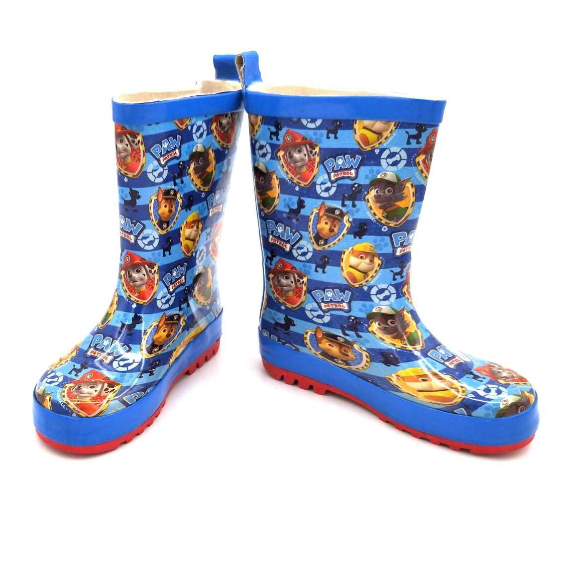 Children's boys water shoes girls rain boots primary school water boots kindergarten cute cartoon plus velvet kids rubber shoes