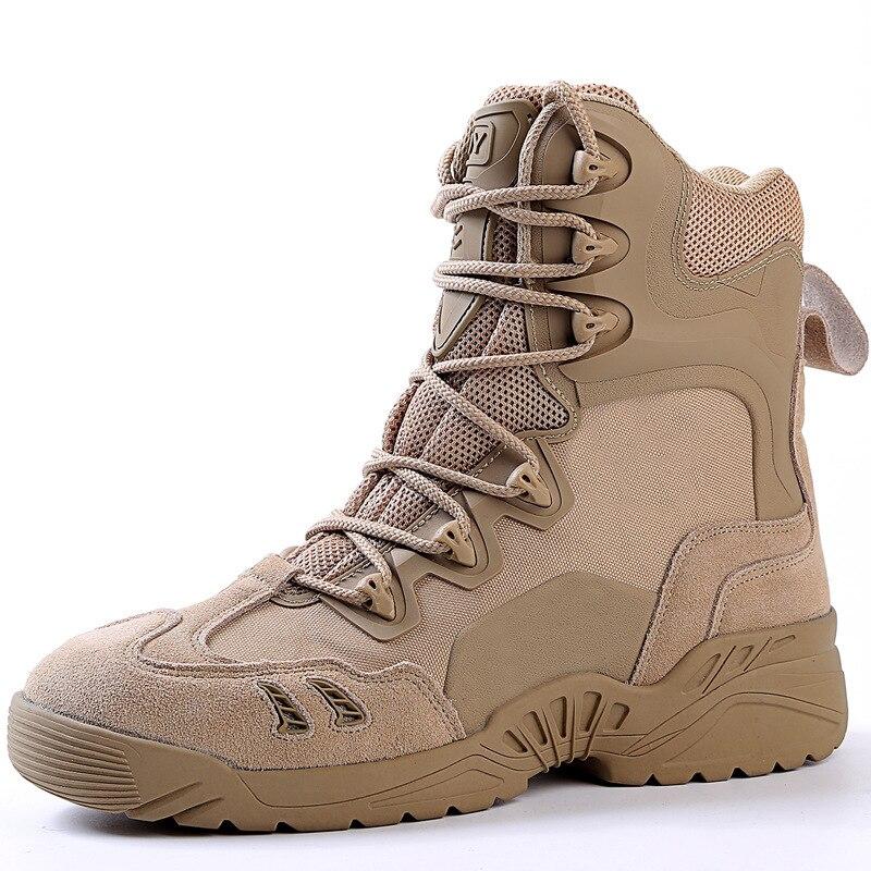 Marque hommes désert Combat bottes de haute qualité confortable respirant militaire tactique chaussures hommes en plein air escalade botte 39-45 BF042