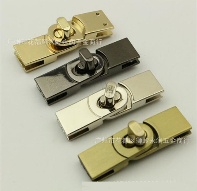 (10 Pieces/lot) Factory Wholesale Bags Handbags Metal Buckle Around The Lock To Lock The Decorative Hardware Accessories