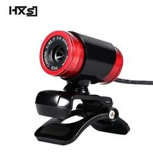 HXSJ A860 HD Webcam 12.0M Pixels CMOS USB caméra Web vidéo numérique HD intégré Microphone 360 degrés Rotaion caméra clipsable