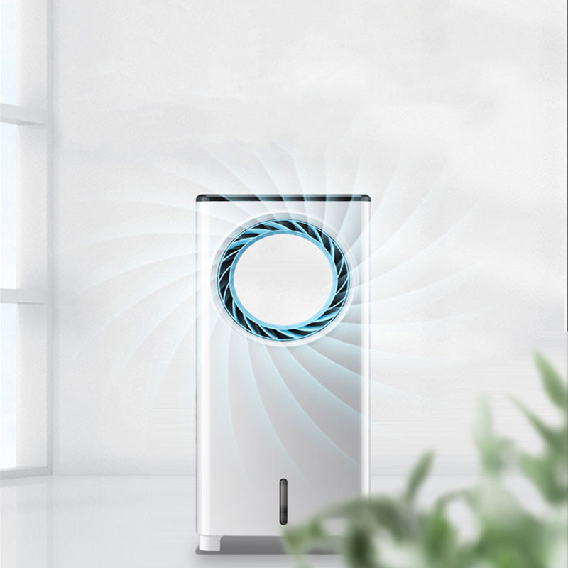 Affordable Household Dormitory Air Conditioning Fan Refrigerator Small Water Cooling  Moving   Less  AC-09