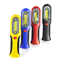 3W COB LED Flashlight 300 Lumen Torch linterna led with Hook Hanging Camping Lamp AAA Handle Magnetic Work Light 4 Color