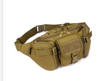 2016 Free Shipping High Quality Nylon Waist Pack Belt Bag Men Military Tactics Chest Packs Camouflage Women Bags  6 Colors women s nylon multifunction travel bags funny chest pack men waist pack hiqh quality waist bag unisex shoulder bag bolso cintura
