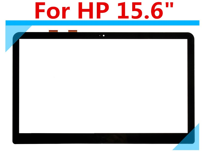 """For HP Envy X360 15-W Series Black Cable 15.6"""" Touch Screen Digitizer Glass"""