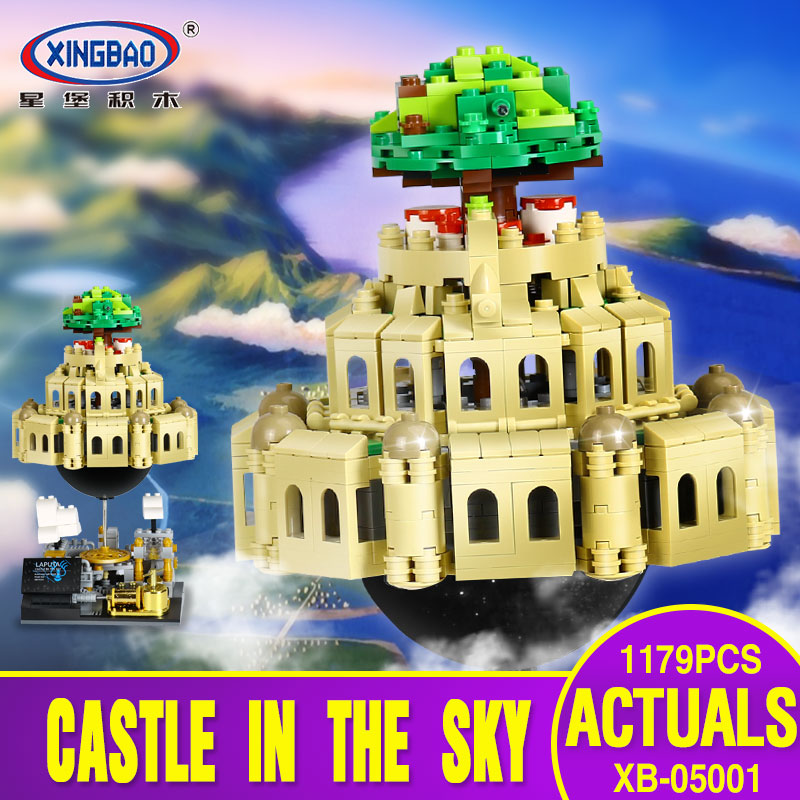 X Model Compatible with Lego X05001 1179Pcs City in The Sky Models Building Kits Blocks Toys Hobby Hobbies For Boys Girls lepin 02012 city deepwater exploration vessel 60095 building blocks policeman toys children compatible with lego gift kid sets