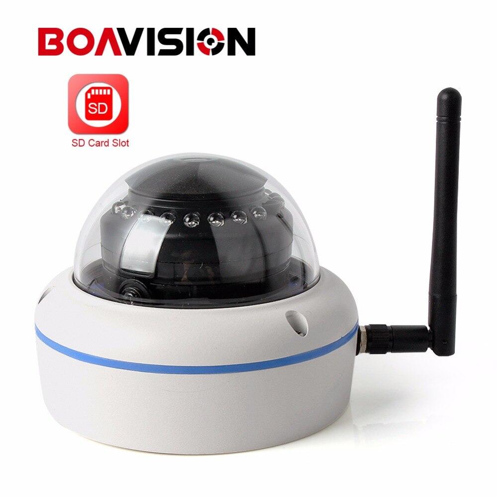 imágenes para HD 720 P 960 P 1080 P Wireless WIFI Noche IR Cámara Al Aire Libre 10 M Domo A Prueba de Vandalismo de Cámaras de Seguridad Wi-fi Onvif TF Tarjeta de APLICACIÓN CamHi