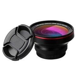 Lente de vidro ótica profissional 0.6x 0.45x super grande angular 15x lente da câmera macro para iphone android lentes