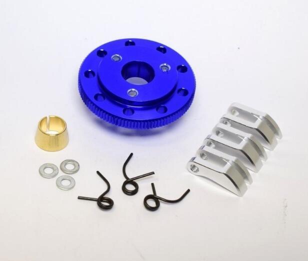 Hot Racing Light Weight 3Shoe Clutch  Flywheel Kit blue 2.5 2.5R 3.3 TRX100S306