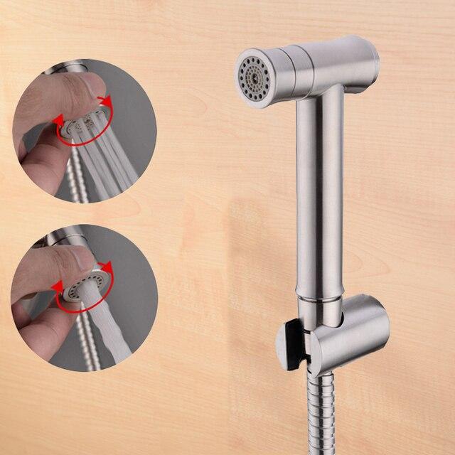 Toilet Handheld Bidet Spray Shower Head Douche Kit Shattaf Bathroom