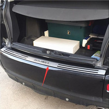 Высококачественный протектор заднего бампера из нержавеющей стали для 2006 2007 2008 2009 2010 2011 2012 Mitsubishi Outlander