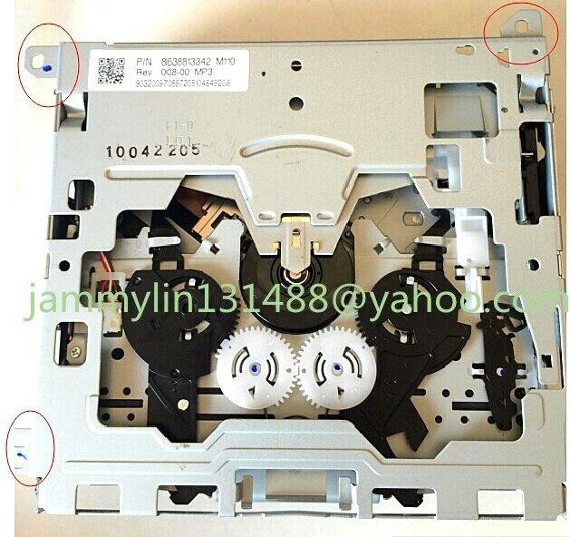 Оригинальная механизм CD погрузчик Renault hyundai Тойота Volkwagen VW RNS315 RNS310 RCD310 автомобиль CD радио