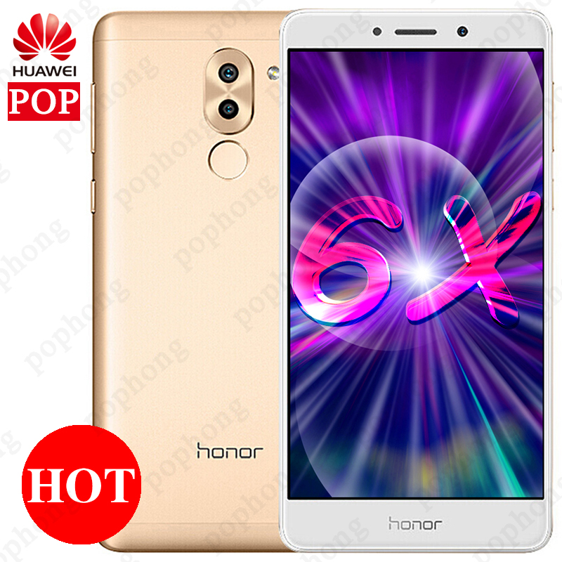 US $110 99 |Aliexpress com : Buy Global ROM Huawei Honor 6X 4GB RAM 64GB  ROM 5 5 inch Cell Phone Octa Core Kirin 655 LTE Dual SIM Android  Fingerprint