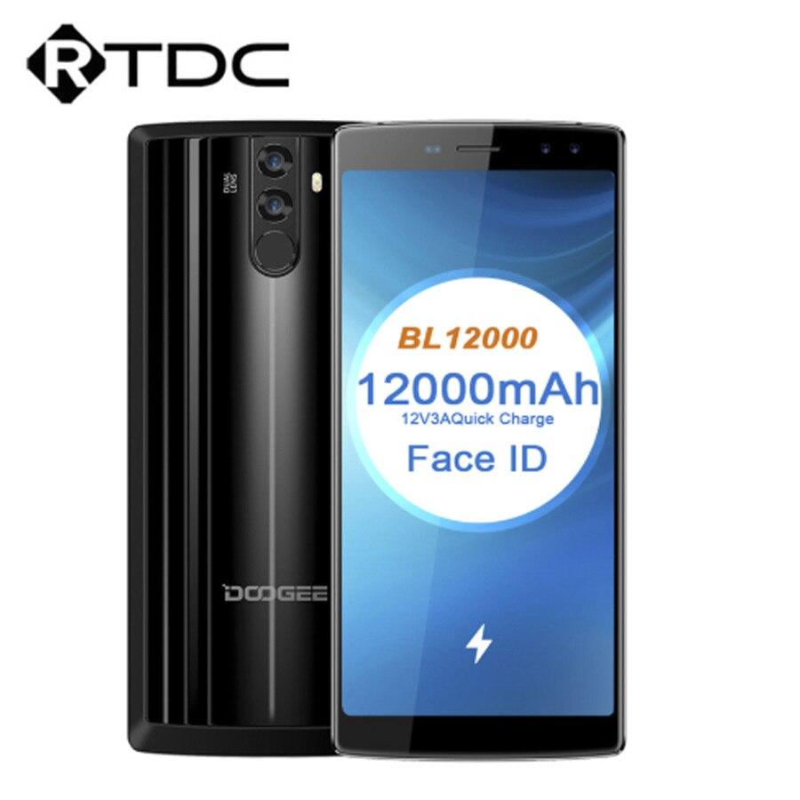 DOOGEE BL12000 アンドロイド 7.0 12000 3400mah 急速充電 6.0 18:9 FHD + MTK6750T オクタコア 4 ギガバイトの RAM 32 ギガバイトギガバイトロムクアッドコアカメラ 16MP 携帯電話  グループ上の 携帯電話 & 電気通信 からの 携帯電話 の中 1
