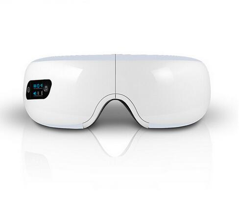 Healthsweet Air pressure Eye massager with mp3.Wireless Vibration Magnetic heating therapy massage device.myopia care glasses