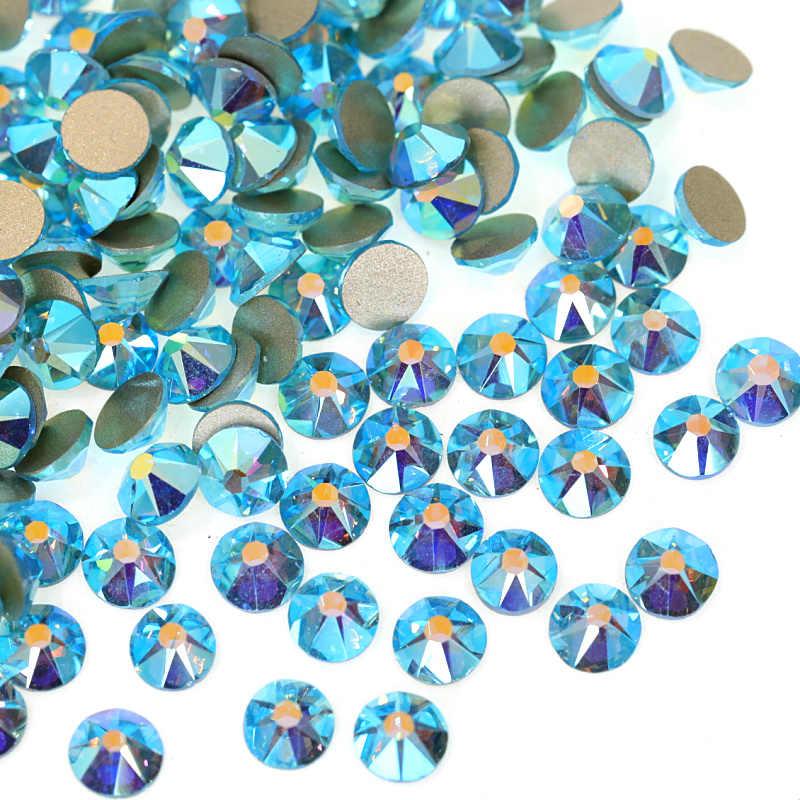 ... 1440PCS 8 big 8 small Cut Facets Glitter Rhinestone Flatback Glass  Crystal AB Non Hot Fix ... ce5b6ff19813