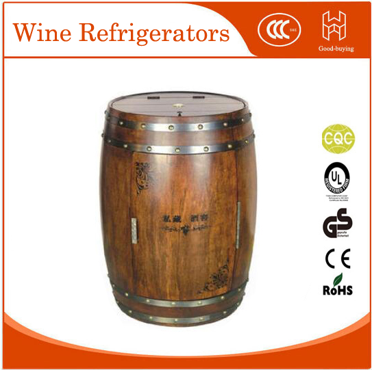 18 bottles 100L red wine cooler for hotel restaurant Glass Door Desktop wine fridger