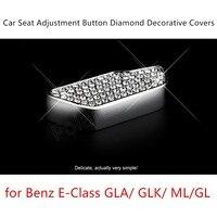 6 stks/set 3 kleuren S/eet Aanpassing Decoratie Interne Diamond cover voor M-ercedes voor B-enz E-Klasse GLA/GLK/ML/GL