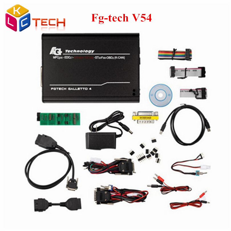 A Quality Unlock v54 ECU Programmer Tool version Fgtech Galletto 4 Master V54 FG Tech V54