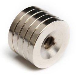 5Pcs N52 Disco Ímãs de Neodímio Ímã Da Terra Rara Magnética 20x3mm com Furo 5mm