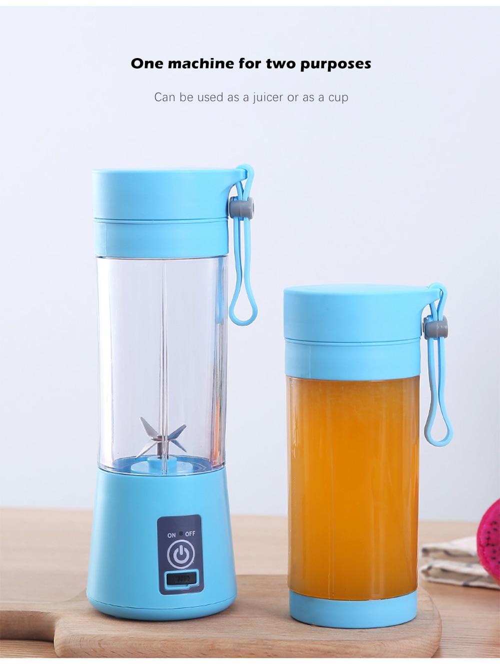HTB1rKcKS4YaK1RjSZFnq6y80pXaF 380ml 2/4/6 Blades Mini Portable Electric Fruit Juicer USB Rechargeable Smoothie Maker Blender Machine Sports Bottle Juicing Cup
