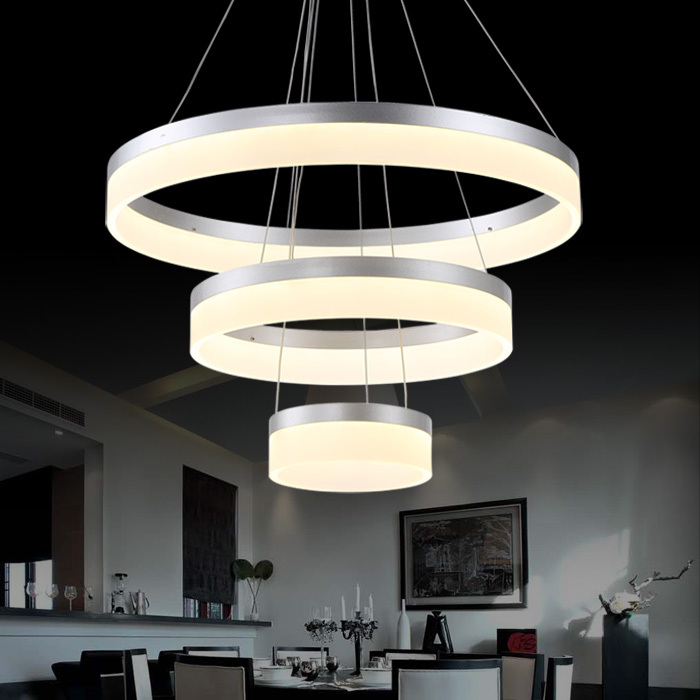 Buy hot sale led pendant lamp ring light for Modern hanging pendant lights