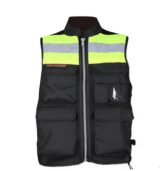 Free shipping Tribe ride motorcycle riding suit reflective vest clothes neon kits vest  reflect light vest