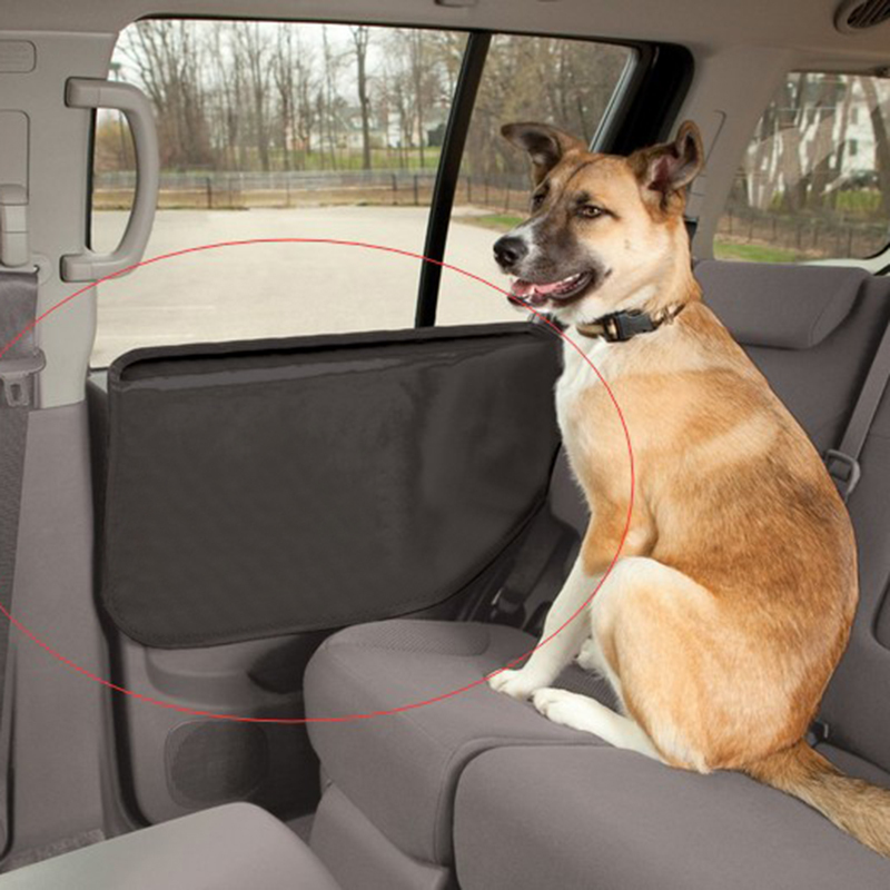 2PCS Car Door Windows Protector Seat Side Cover Pet Mat Scratch Shield Guard  Car Door Organizer