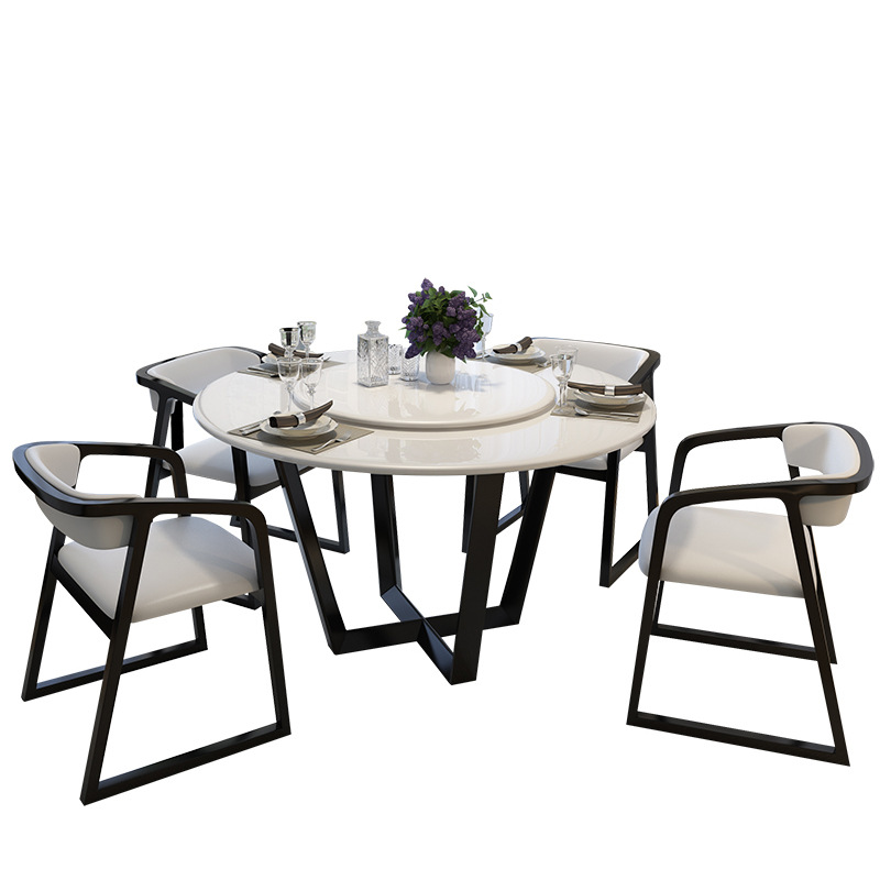 Swell Us 1049 0 Malaysia Modern Style Round Marble Dining Table Set In Bedroom Sets From Furniture On Aliexpress Gmtry Best Dining Table And Chair Ideas Images Gmtryco