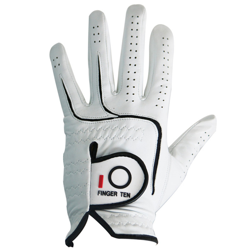 Men's Golf Gloves All Premium Cabretta Leather Left Hand Right Weathersof Lh Rh Fit Small Medium ML Large XL XXL Finger Ten finger ten 1 pair men s golf gloves rain hot wet grip left and right hand pr comfortable fit small medium large ml xl gloves