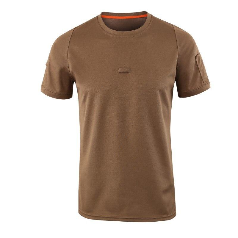 Razionale Esercito T Camicia Degli Uomini Di Estate Ad Asciugatura Rapida Combattimento T Camicette Traspirante O Collo T-shirt Camouflage Elegante Nell'Odore
