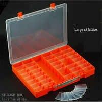 Wozniak E215 Big Activity 48 Grid Portable Toolbox Toys Building Block Accept Electronic Component Spare Parts Box Sample Box