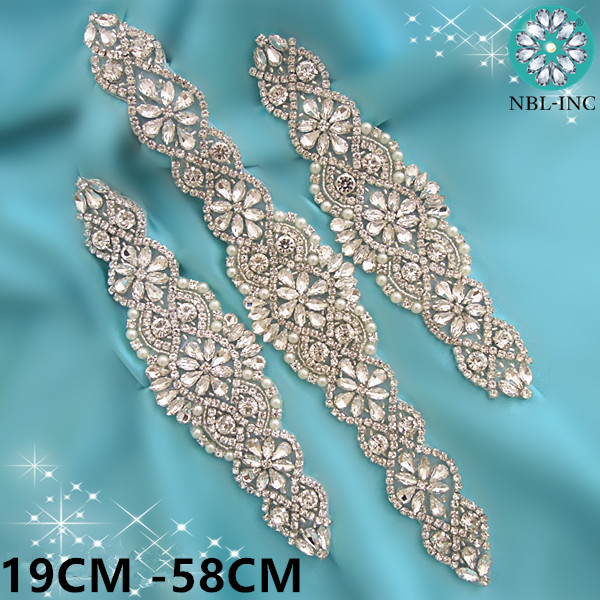 b29e0f83e8 top 10 bridal applique belt list and get free shipping - fd3jjk20