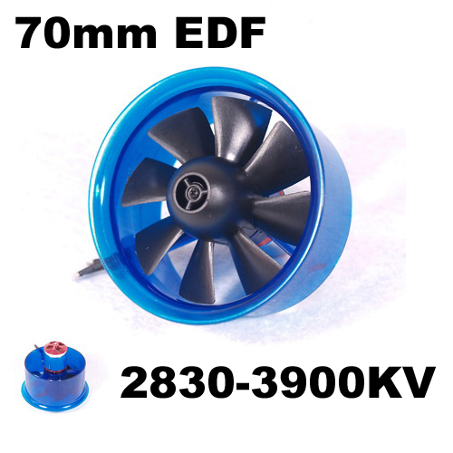 US $25 99 |Mystery EDF Plus HL7008 2830 3900KV Brushless Motor 70mm EDF  Ducted Fan Power System-in Parts & Accessories from Toys & Hobbies on