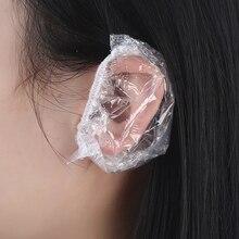 2454 одноразовые водонепроницаемые накладки для ушей, окрашенные волосы, одноразовые накладки для ушей, водонепроницаемые накладки для ушей, покрытие для ушей, наушники