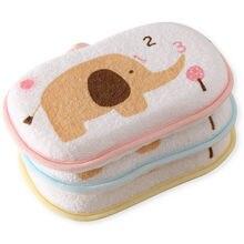 Милые носки с буквенным принтом для малышей, с изображением слона банные щетки губки Baby Shower продукт шаговой доступности банные щетки