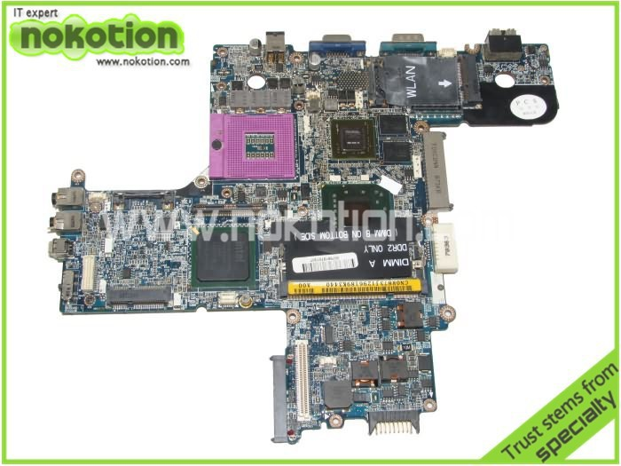 0R873J LAPTOP MOTHERBOARD for DELL LATITUDE D630 PM965 NVIDIA G86-620-A2 DDR2 MAINBOARD FULL TESTED