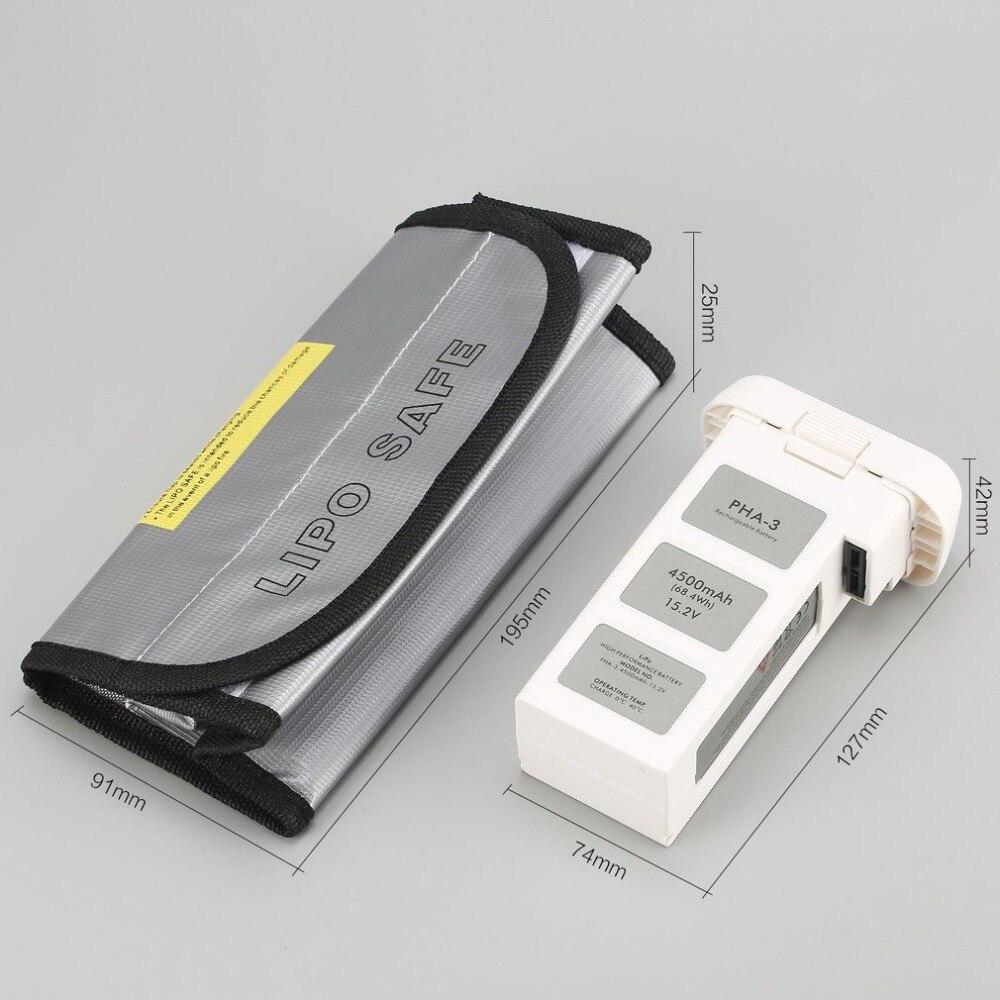 4500 mAh 15,2 V 4S интеллектуальная летная LiPo батарея с безопасной сумкой для DJI Phantom 3 SE профессиональный высокотехнологичный стандарт RC Дрон - 6