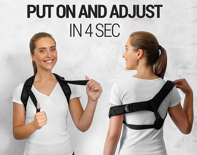 WARMLIFE Back Posture Corrector Belt with Adjustable Magic Straps of High Quality to Correct Humpback Non Surgically Helps to Improve the Correct Posture 11