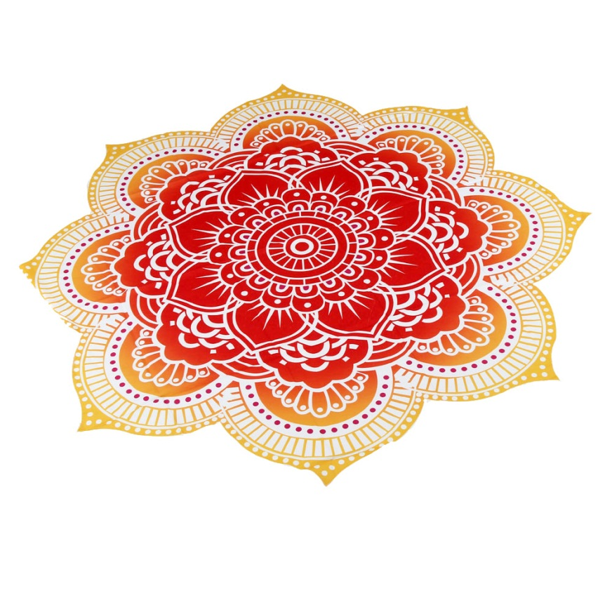 New Arrival!Round Beach Pool Home Shower Towel Blanket Table Cloth Yoga Mat 2017 Popular Drop Shipping May26