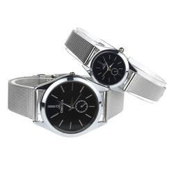 Relogio Masculino и Relogio Feminino 2018 Пара Lover для мужчин женщин нержавеющая сталь кварцевые пояс сетки наручные часы