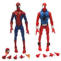 Marvel Legends Oneindige Serie Speelgoed Pizza Spiderman SCARLET SPIDER MAN Super Hero Action Figure Model Speelgoed voor Nieuwjaar Gift 6''