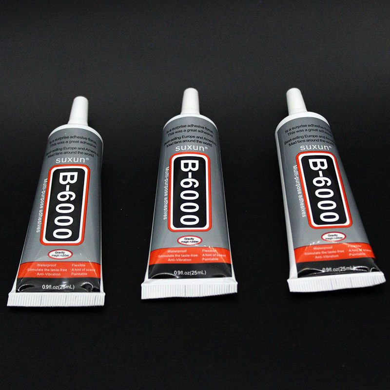 25ml MultiPurpose B6000 Industrial Glue Jewerly Craft Rhinestone And Nail Glue B6000  Mobile Phone Frame Fixed Screen Glass Glue