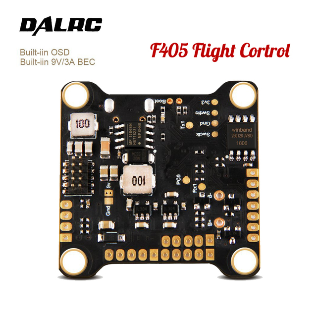 New DALRC F405 F4 flight controller with MPU6000 Gyro Supports 8K Refresh Rate Operation Built-in OSD Work with DALRC 4IN1 ESC