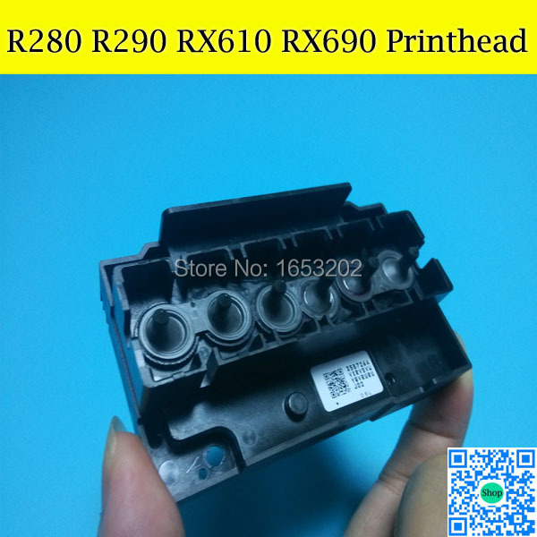 100 Original F180000 Printhead Print Head For Epson R290 R295 RX610 RX690 PX650 PX660 PX610 P50
