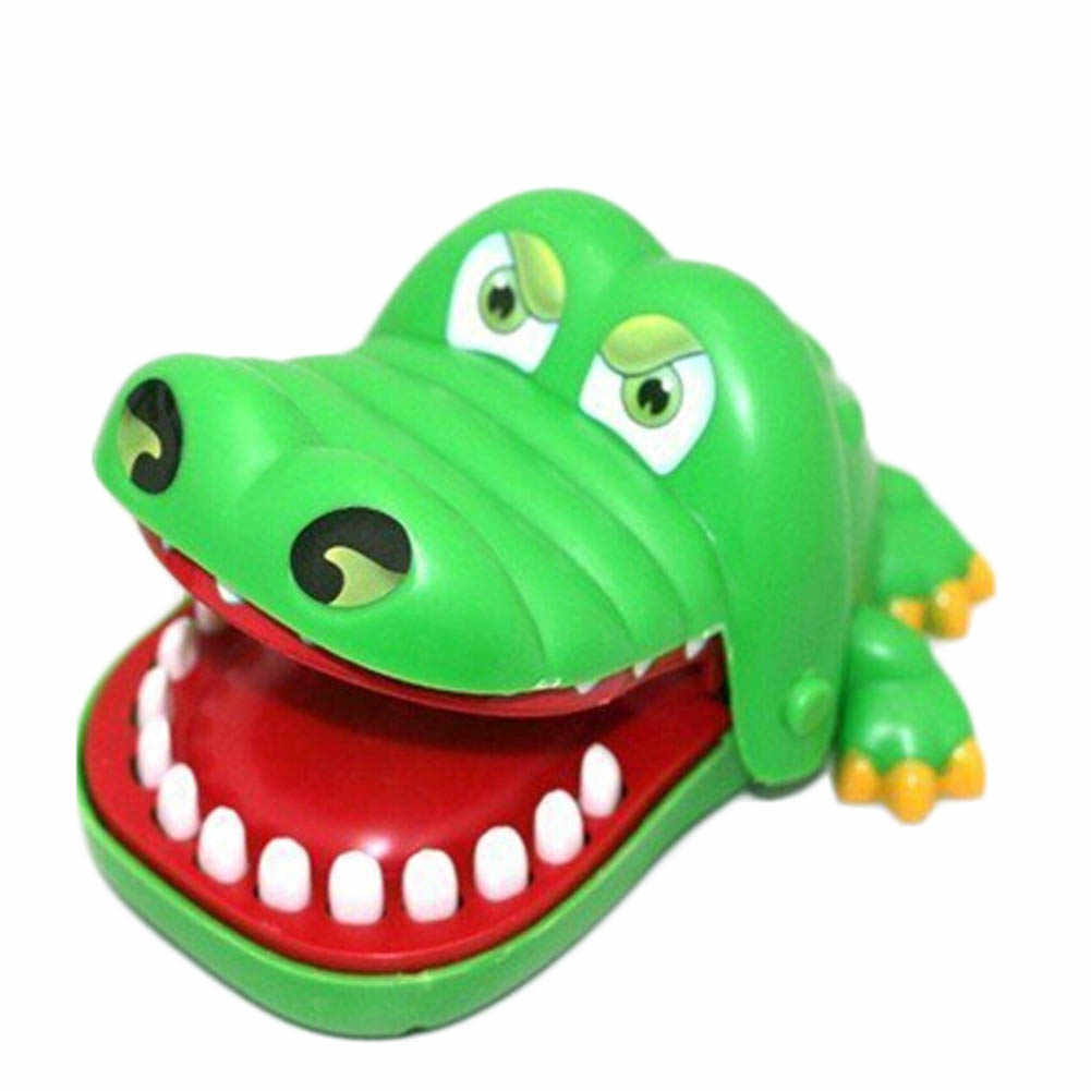 Large Crocodile Mouth Dentist Bite Finger Game Funny Toy Gift NEW