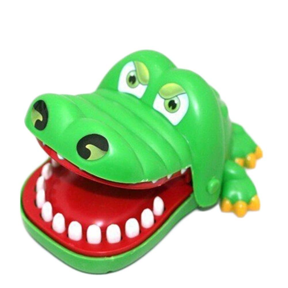 1 шт. большой Размеры Новый в коробке крокодил Рот стоматолог укус пальца игры забавно играть дети подарок развивающие игрушки ...