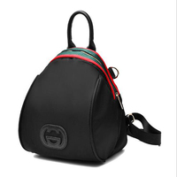 Women Backpacks 2018 New Fashion Pu Leather Panelled Female S Bag Top Handle Package Girls Large