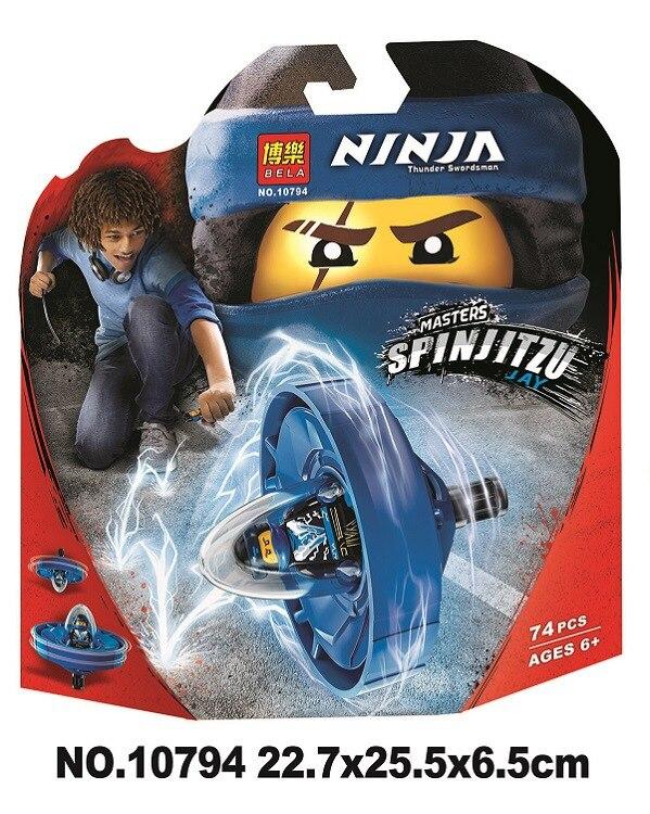 Bela 10794 Ninja Movie Jay - Spinjitzu Master Set Building Blocks Toys Compatible With Legoings Ninjagoes Bela 10794 Ninja Movie Jay - Spinjitzu Master Set Building Blocks Toys Compatible With Legoings Ninjagoes